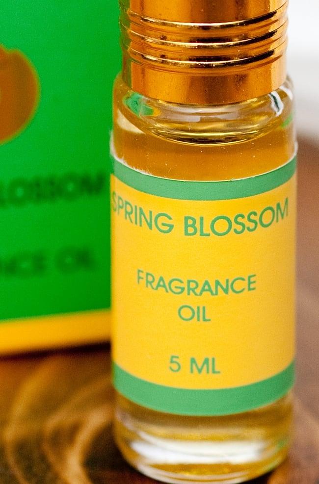 春の花 (SPRING BLOSSOM)の香り - オウロシカアロマオイルの写真2 - 拡大写真です