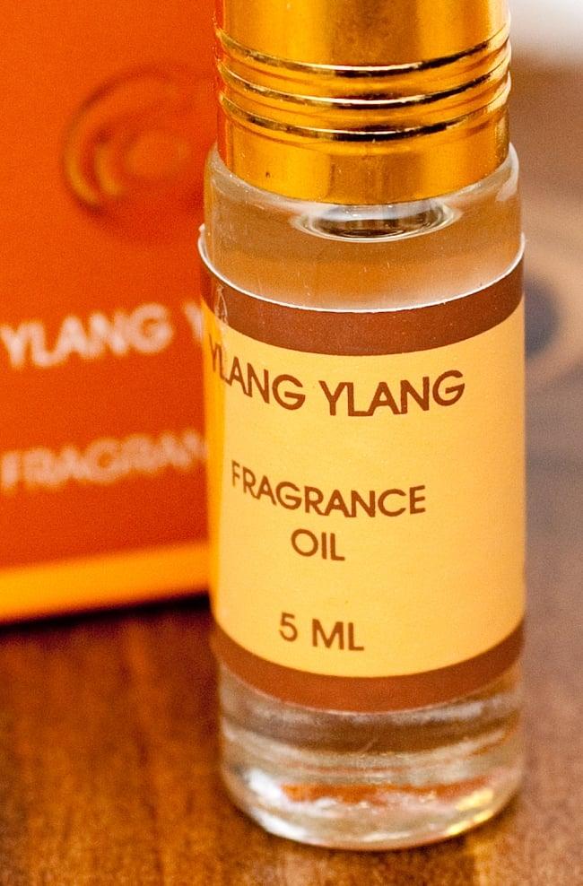 イランイラン(YLANG YLANG)の香り - オウロシカアロマオイルの写真2 - 拡大写真です