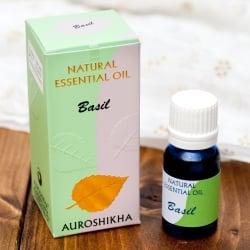 バジル(BASIL)の香り - オウロシカアロマオイル(IND-INS-353)