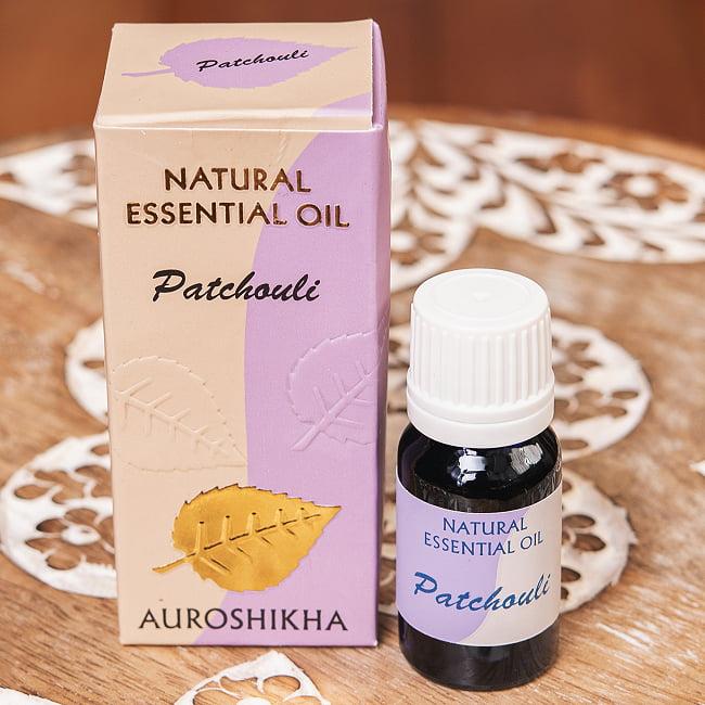 パチョリ(PATCHOULI)の香り - オウロシカアロマオイルの写真1