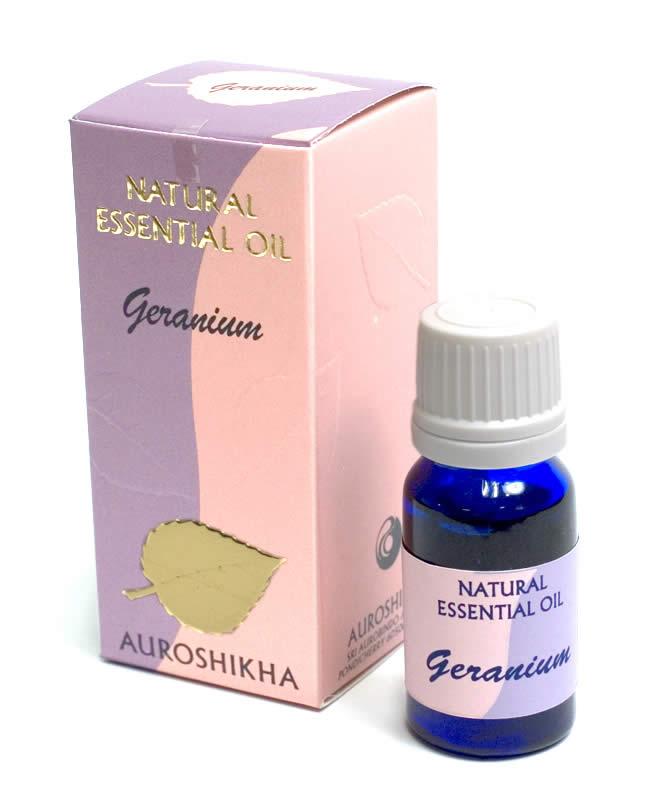 ゲラニウム(GERANIUM)の香り - オウロシカアロマオイルの写真1