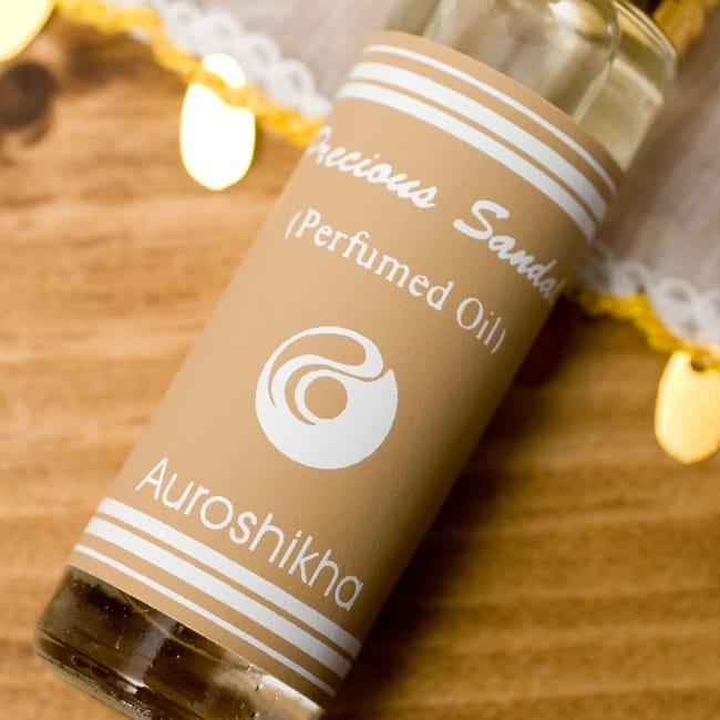 香木(PRECIOUS SANDAL)の香り - オウロシカアロマオイルの写真3 - 香りの表記はこちらにあります。