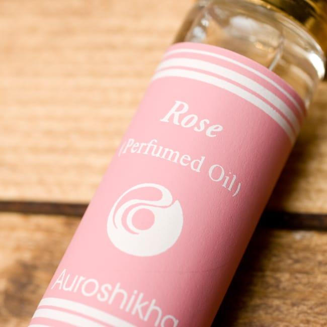 バラ(ROSE)の香り - オウロシカアロマオイルの写真3 - 香りの表記はこちらにあります。