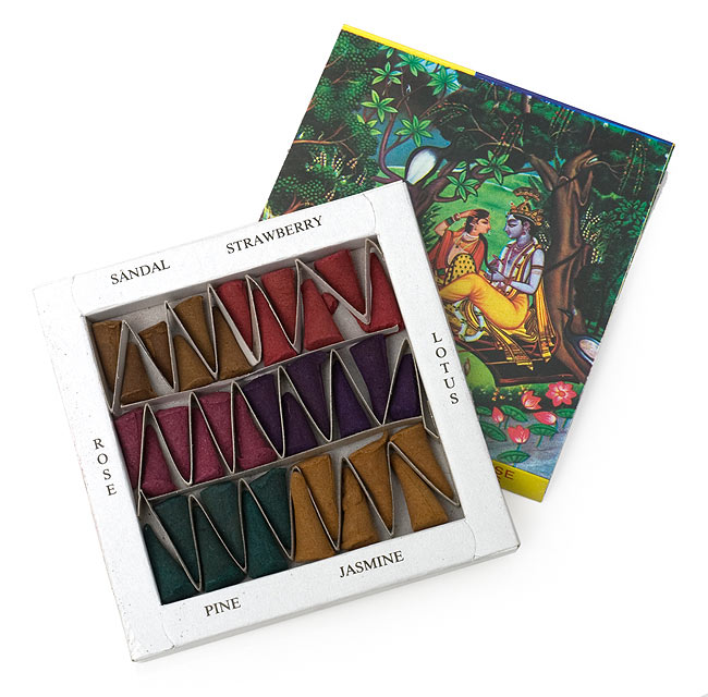 MADHUBAN - マドゥバンの写真2 - 中身は6種類のお香