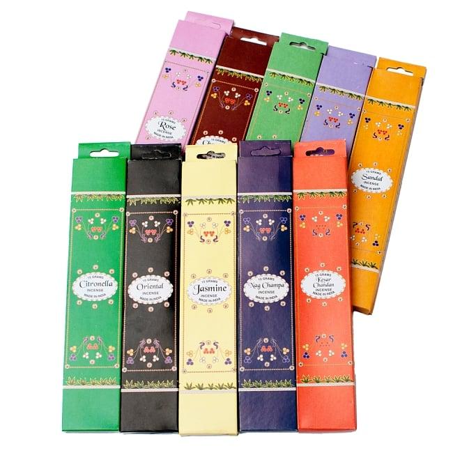 インド香10種類ギフトセット 2 - 10箱セットです