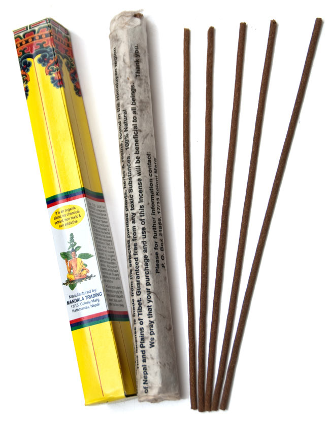 The Earth Incense - アース香 2 - パッケージと中身です。