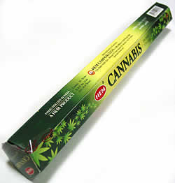 カナビス香 - Cannabis Incense Sticks【HEM社製】(IND-INS-CANA)