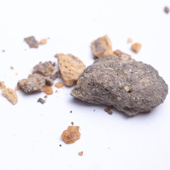 Sal-Dhoop(Amber) - 琥珀の写真3 - 中に入っているものはこんな感じです