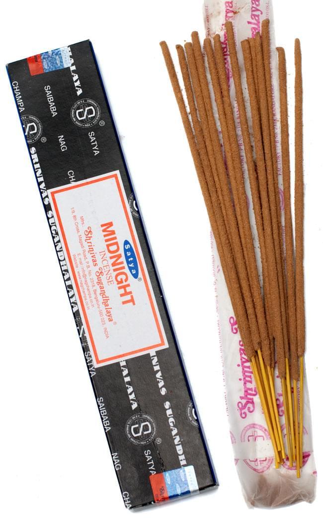 【Satya】ミッドナイト香 Midnight Incenseの写真