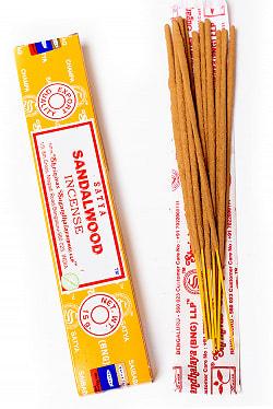 【Satya】サンダルウッド香 Sandalwood Incense