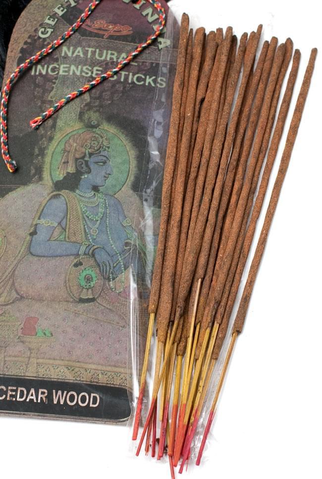 Geet Govinda ギータ・ゴーヴィンダ香 - Cedarwoodの写真4 - お香の写真です