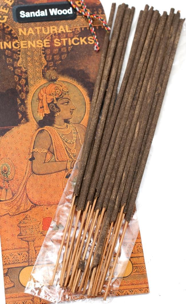 Geet Govinda ギータ・ゴーヴィンダ香 - Sandalwoodの写真4 - お香の写真です