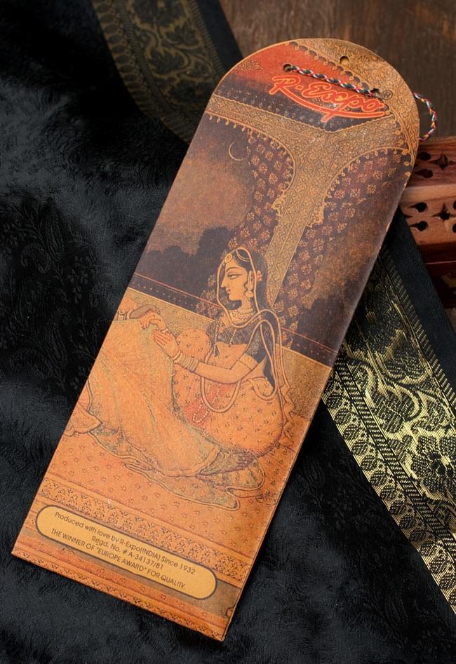 Geet Govinda ギータ・ゴーヴィンダ香 - Frangipaniの写真3 - 裏面の写真です