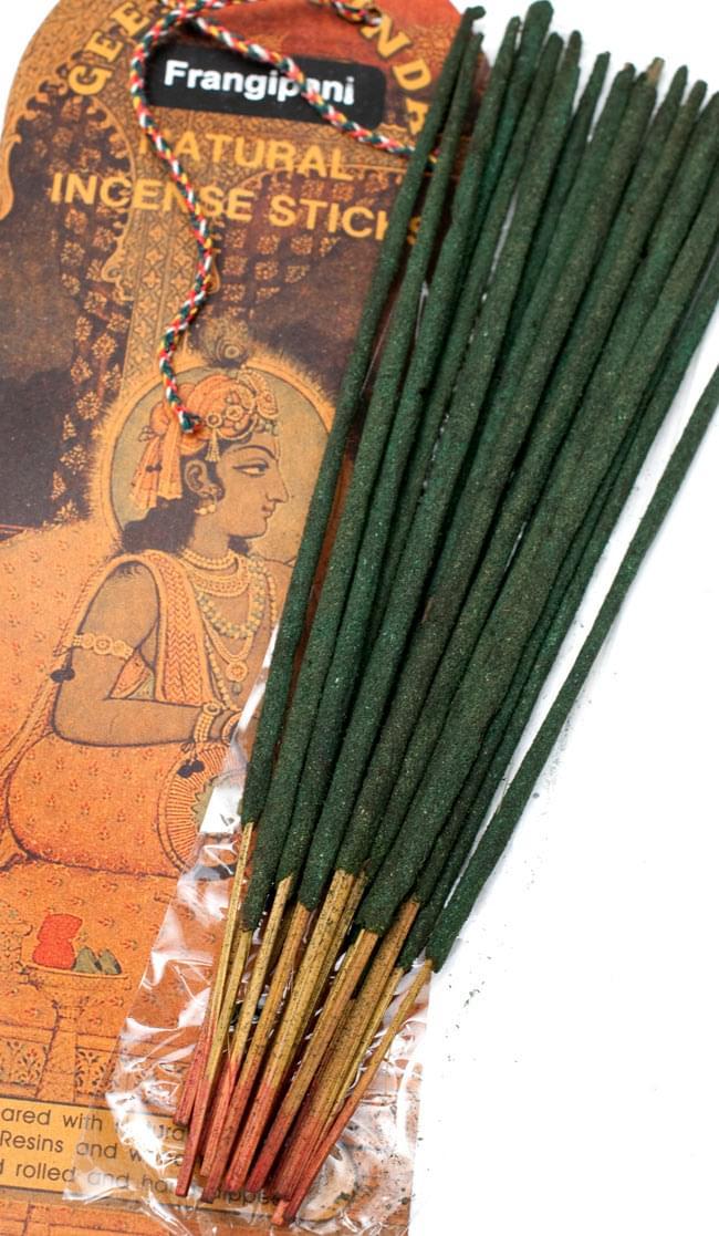 Geet Govinda ギータ・ゴーヴィンダ香 - Frangipaniの写真4 - お香の写真です