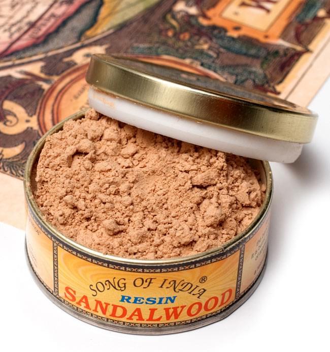 白檀(サンダルウッド) - 粉末香の写真
