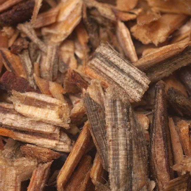 沈香(ロイヤル・ウード) - 樹木香 2 - お香を拡大してみました