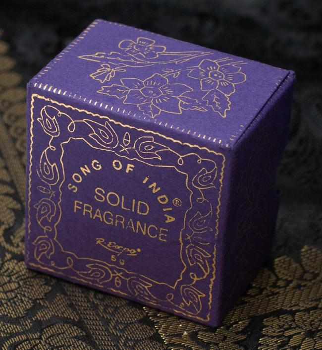 クリーム・フレグランス[ソープストーン] - 白檀の香り(プレシャス・サンダル) 2 - パッケージ前面です
