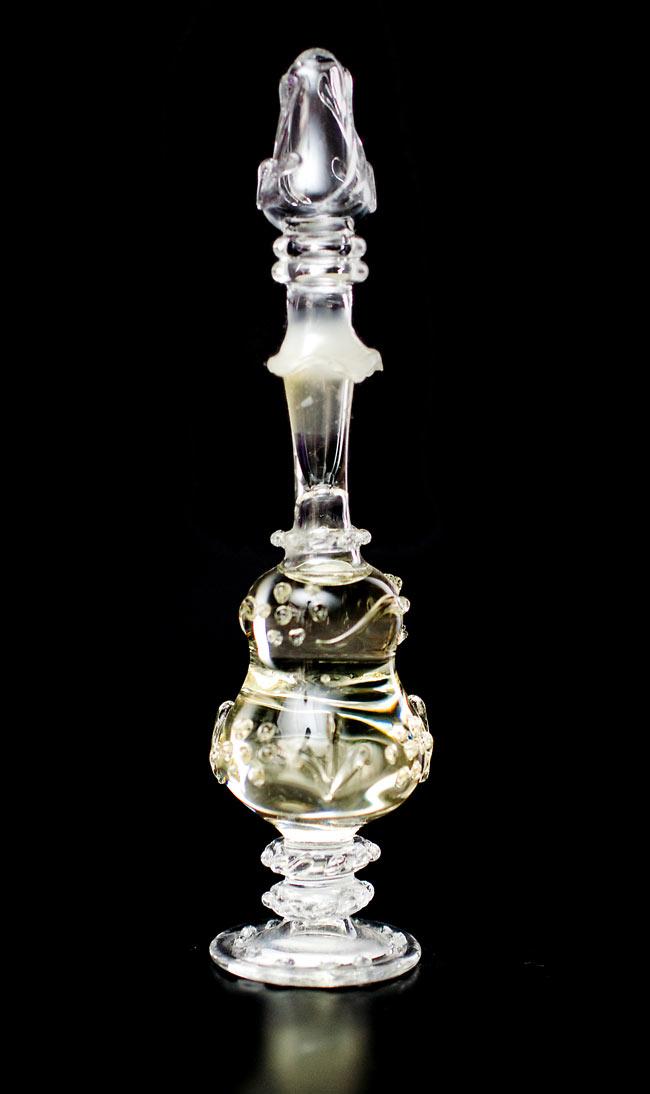 【15ml】クリシュナ・ムスク(Krishna Musk) - ナチュラルフレグランスオイル の写真2 - ハンドメイドのボトルに封じられています。
