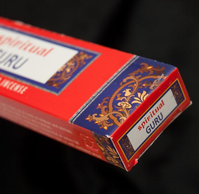 Spiritual Guru香の写真3 - パッケージの端っこの部分を拡大しました
