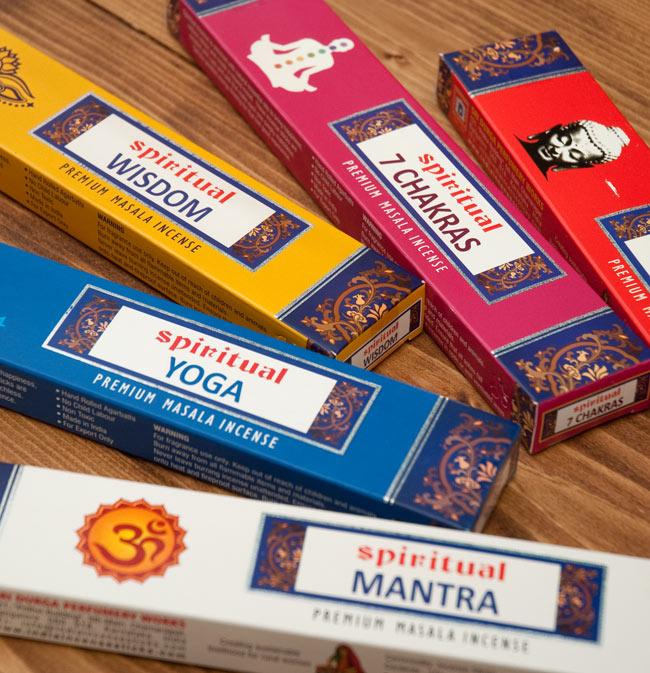 Spiritual Mantra香の写真7 - 全部で5つのバラエティがあります