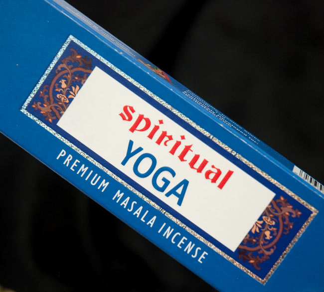 Spiritual Yoga香の写真2 - パッケージの一部分を拡大しました