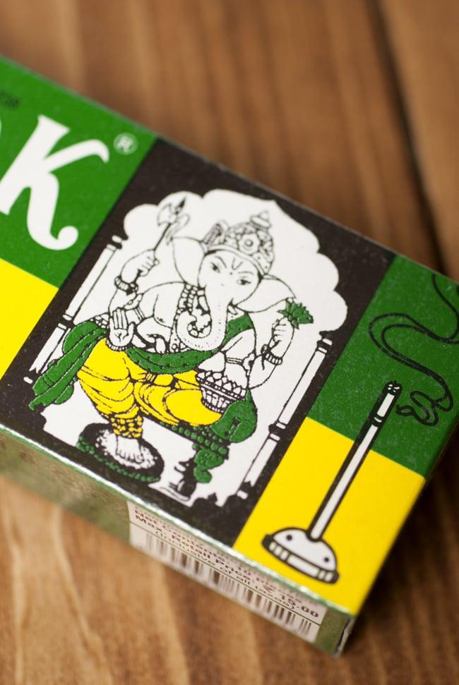 Vinayak MOGRA DHOOP STICKS[ジャスミン]の写真3 - ガネーシャのパッケージがキュート!