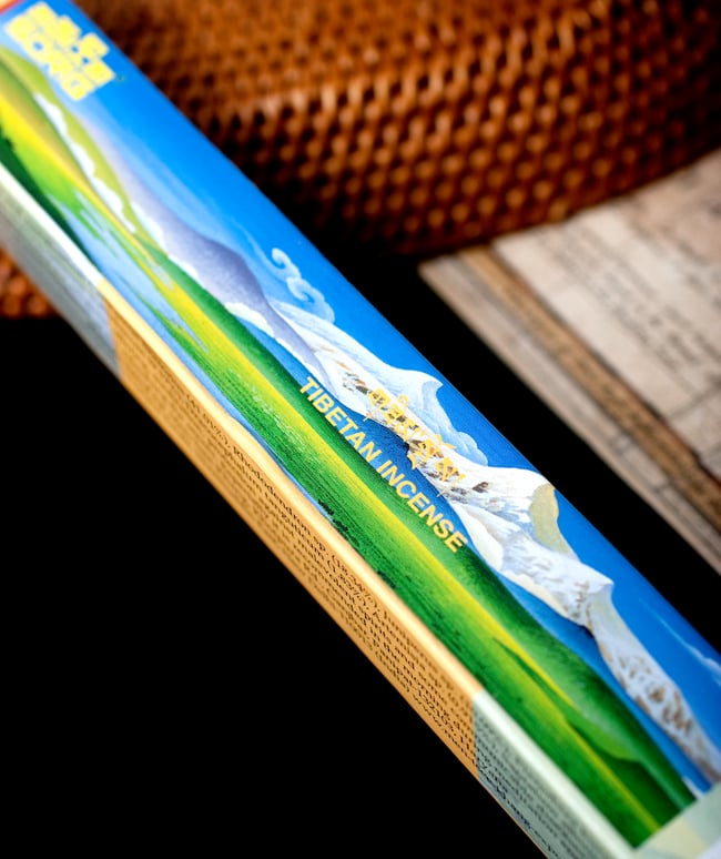 Sorig チベタンインセンス【メン・ツィー・カンのお香】の写真2 - パッケージも素敵です