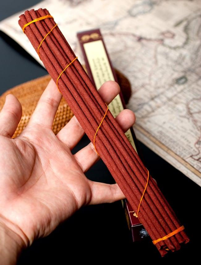 Kalachakra Incense カーラチャクラ香 6 - ずっしり沢山はいっています。とても長いのでゆったりと焚けます。