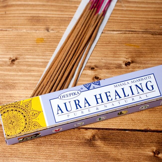 Deepika オーラヒーリング香 Aura Healingの写真2 - パッケージの拡大写真です