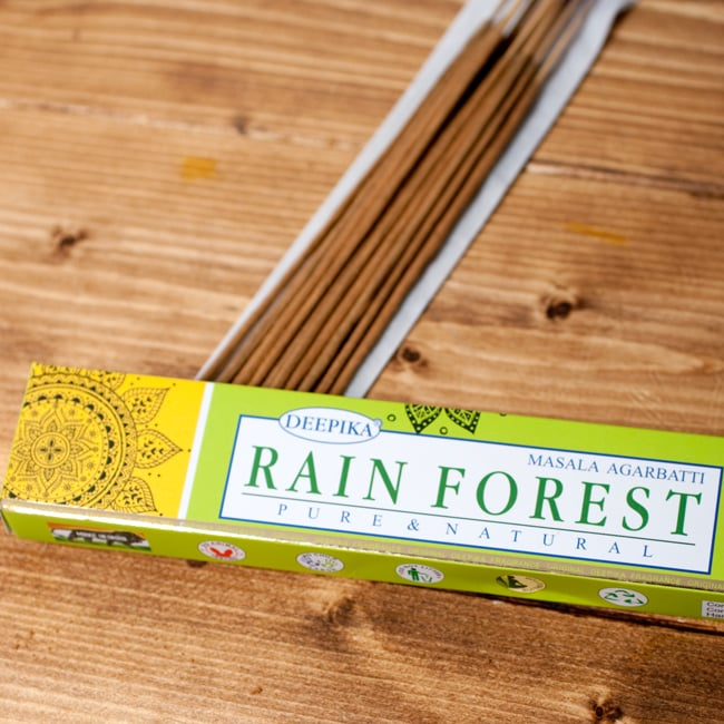 Deepika レイン・フォレスト香 Rain Forestの写真2 - パッケージの拡大写真です