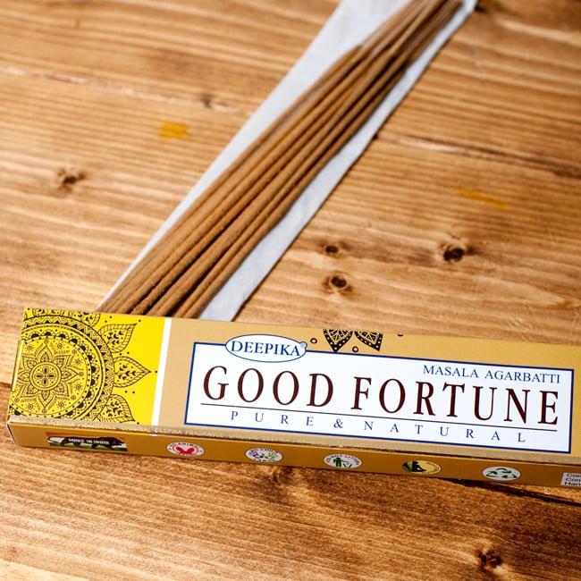 Deepika グッドフォーチューン香 Good Fortuneの写真2 - パッケージの拡大写真です