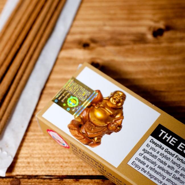 Deepika グッドフォーチューン香 Good Fortuneの写真5 - お香の拡大写真です。しっかりと作られています。