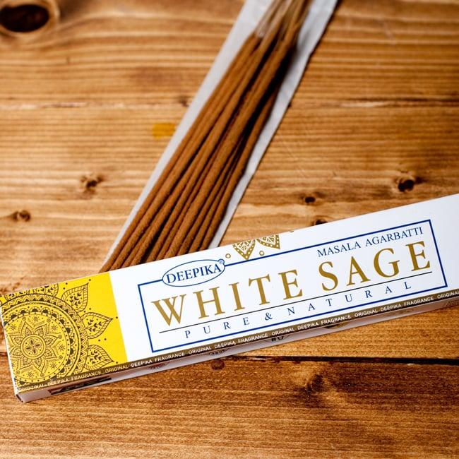 Deepika ホワイトセージ香 White Sageの写真2 - パッケージの拡大写真です