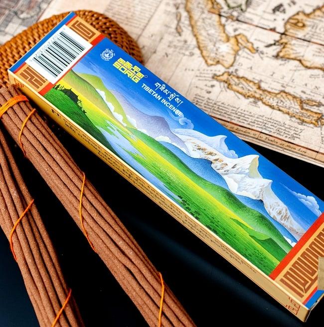 【約40本入り】Sorig チベタンインセンス【メン・ツィー・カンのお香】 2 - パッケージも素敵です