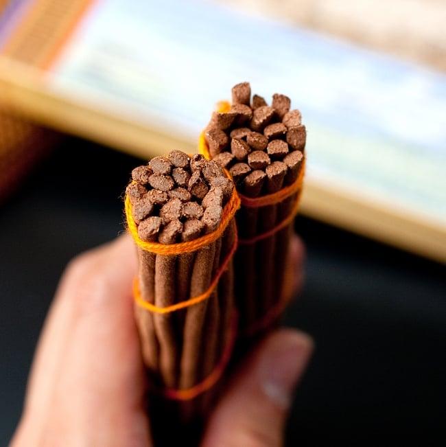 【約40本入り】Sorig チベタンインセンス【メン・ツィー・カンのお香】 5 - 竹の芯なども入っていないのでピュアです