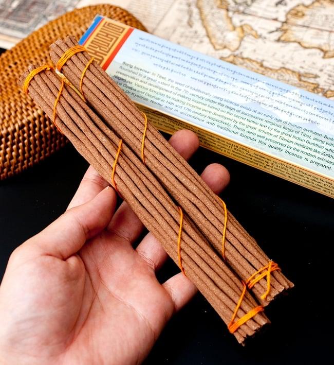 【約40本入り】Sorig チベタンインセンス【メン・ツィー・カンのお香】 6 - ずっしり沢山はいっています