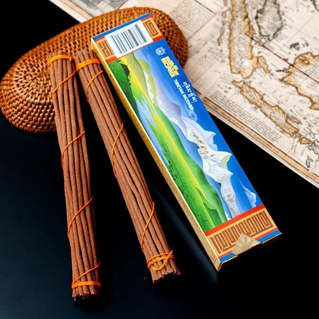 【約40本入り】Sorig チベタンインセンス【メン・ツィー・カンのお香】の写真