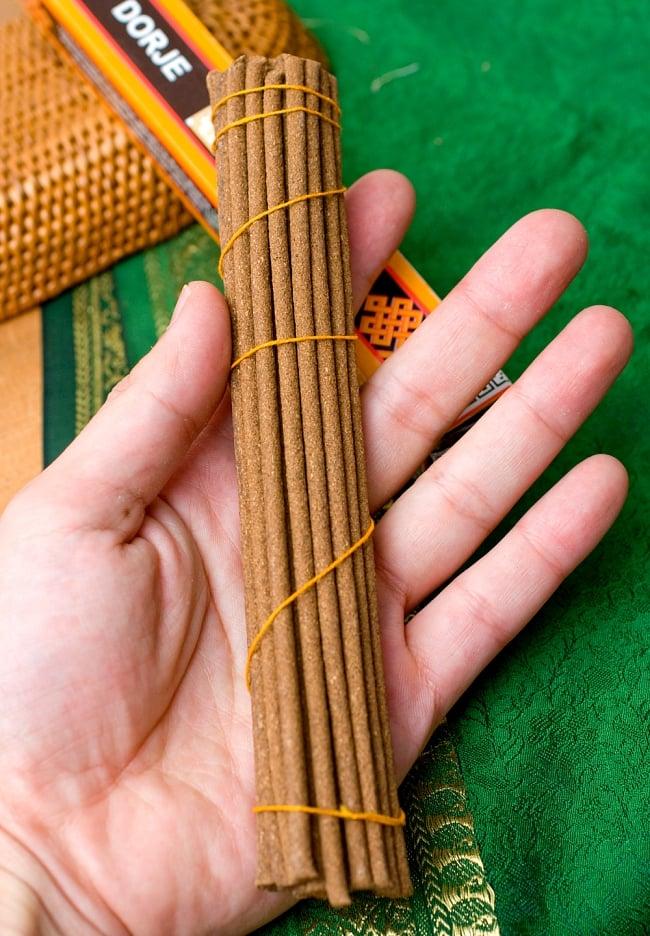 Dorje Incense -ドルジェ香 3 - 長さはだいたいこのような大きさになります。
