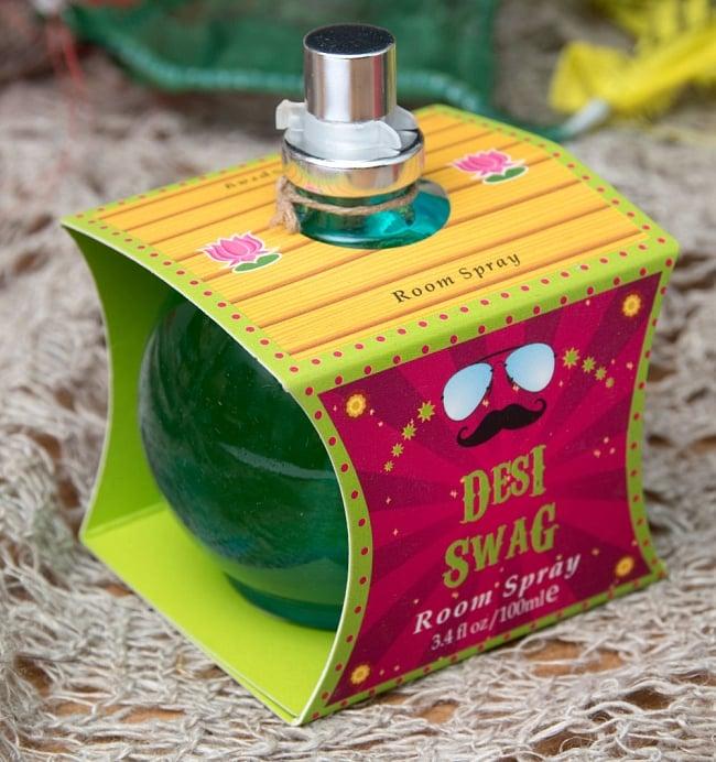 インドなデザインのルームスプレー - The Great Indian Caravan - Desi Swag 2 - 斜めから撮影しました