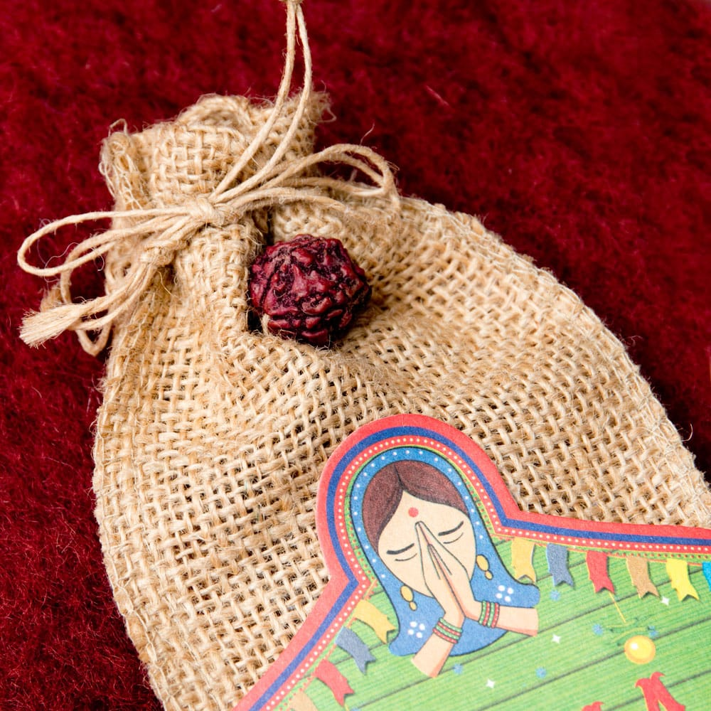 Great Indian Incense - MASALA - ジンジャー&スパイス 2 - 数珠にもなる聖なる木の実ルドラクシャつき!!!