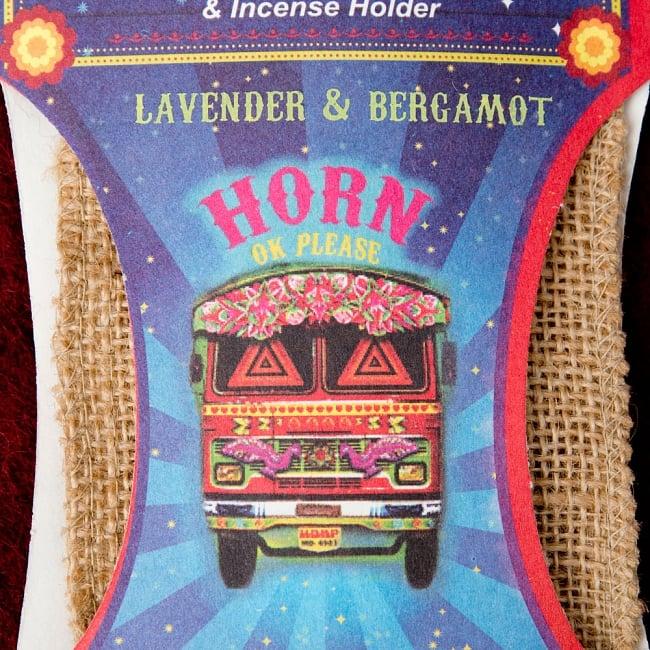 Great Indian Incense - SNAKE CHARMAR - ラベンダー&ベルガモット 4 - インドの象徴とも言えるトラックがモチーフになっています