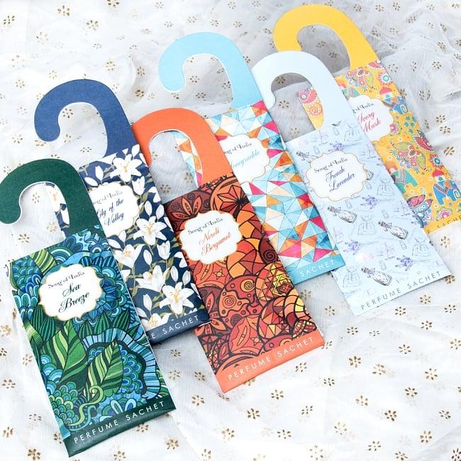Song of India - サシェ(香り袋) - アイボリームスク 5 - 他にも素敵な香りのラインナップがございます!ぜひご覧くださいませ。