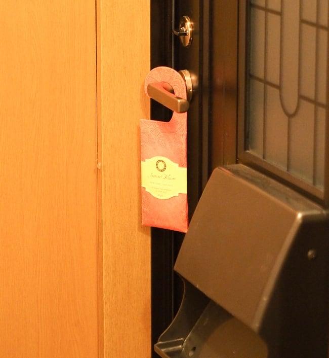 Song of India - サシェ(香り袋) - アイボリームスク 7 - 玄関で使ってみました。吊り下げるだけなので簡単ですね!(写真は類似商品です)