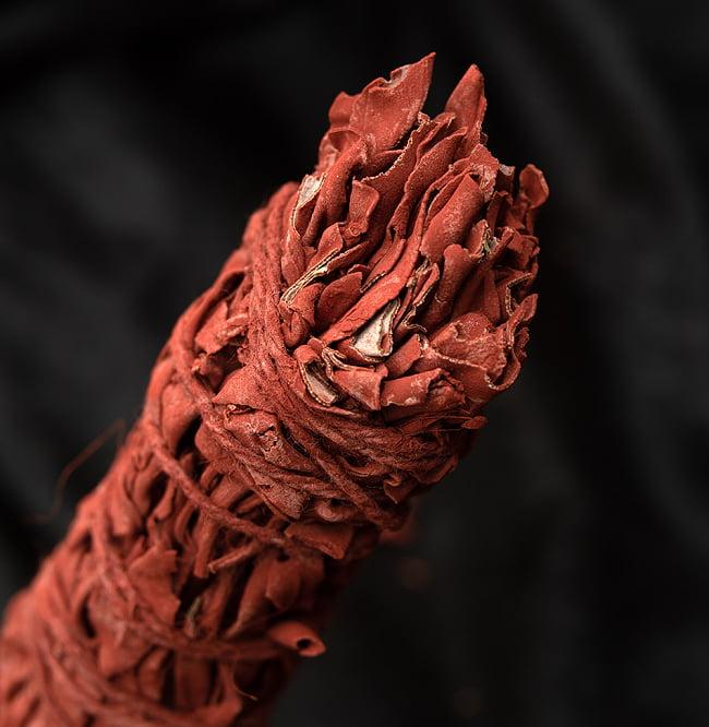 ドラゴンブラッド カリフォルニア セージ スティック 11cm  3 - 端っこはこんな感じです