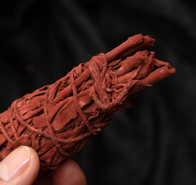 ドラゴンブラッド カリフォルニア セージ スティック 11cm  4 - 端っこはこんな感じです