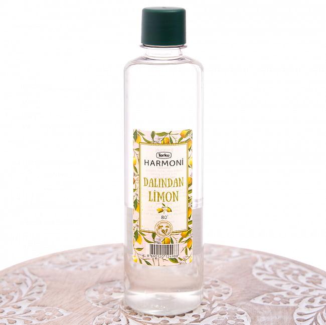 レモンの香りの消毒用アルコール - コロンヤ - DALINDAN LIMON - 400ml 3 - 正面から撮影しました