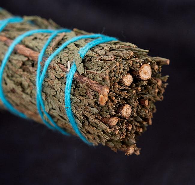 ヒマラヤスギ(Ceder)のワンド バンドル スティック [10cm  30g程度] 2 - 端っこはこんな感じです