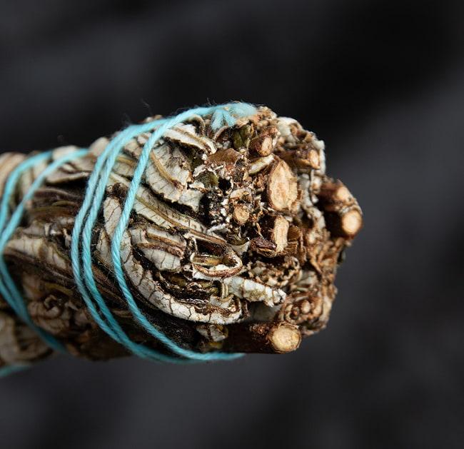 イェルバ サンタ Yerba Santa 無農薬 ワンド バンドル スティック [10cm  25g程度]スマッジング 浄化 3 - 端っこはこんな感じです