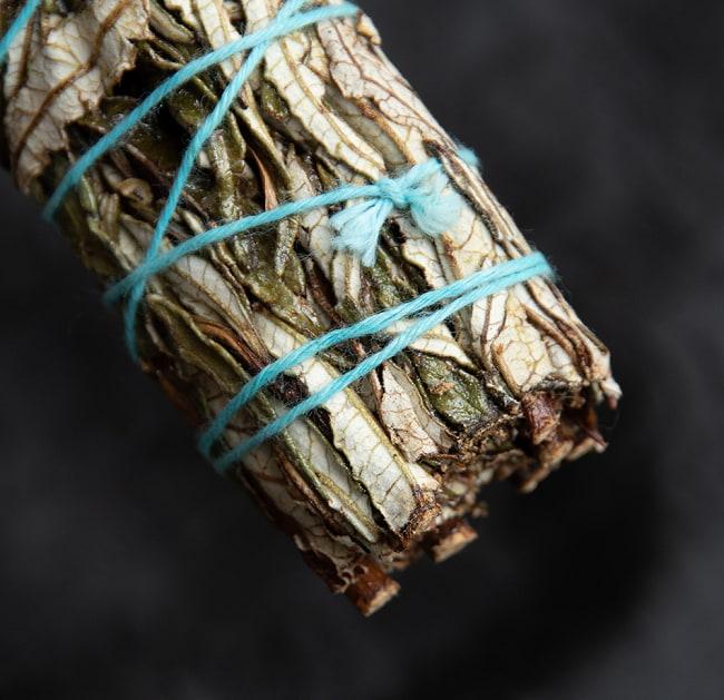 イェルバ サンタ Yerba Santa 無農薬 ワンド バンドル スティック [10cm  25g程度]スマッジング 浄化 4 - 端っこはこんな感じです
