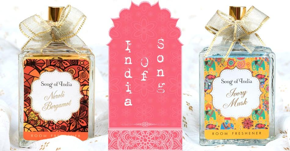 香水風のルームフレッシュナー- Song Of India